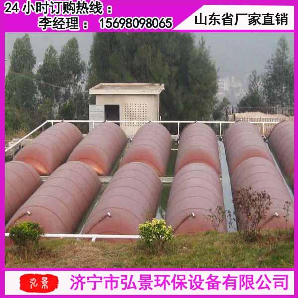 红泥沼气袋200立方发酵储气设备厂家现场
