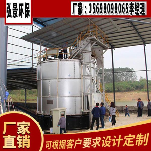 雞糞一次成肥罐除臭發酵罐廠房建設圖紙、應用效果