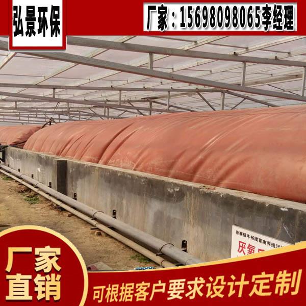 大型养牛场粪污发酵设备、沼气池翻抛机土建建设方法