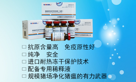 豬瘟耐熱保護劑活疫苗(兔源)