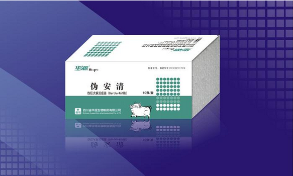 【華派】偽狂犬病活疫苗(Bartha-K61株)(偽安清)
