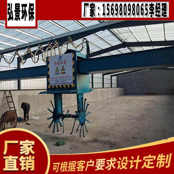 新款上市轮盘式槽式翻堆机跨度15-25米工艺要求及厂家