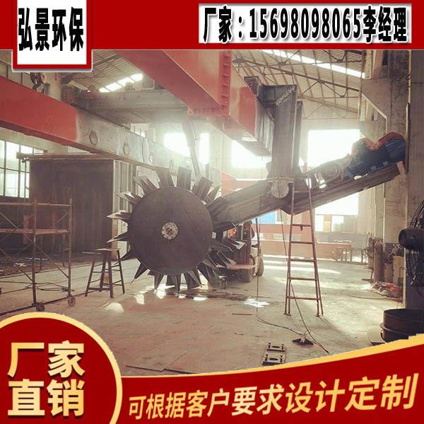 液压升降轮盘式翻堆机20米的多少钱一套、建设施工图纸