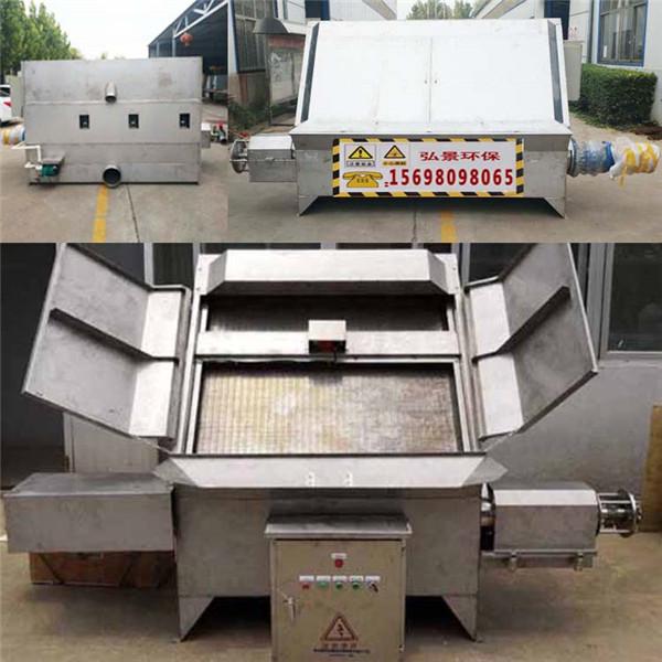 猪粪处理设备现货供应 斜筛式分离机800产能多少