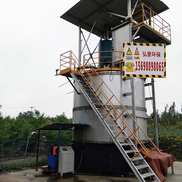 有机肥发酵罐全自动操作料仓尺寸30-120立方价格