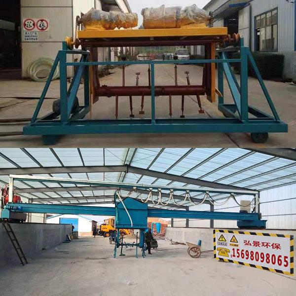 大型液压轮式翻抛机翻堆机尺寸可定制8-30米