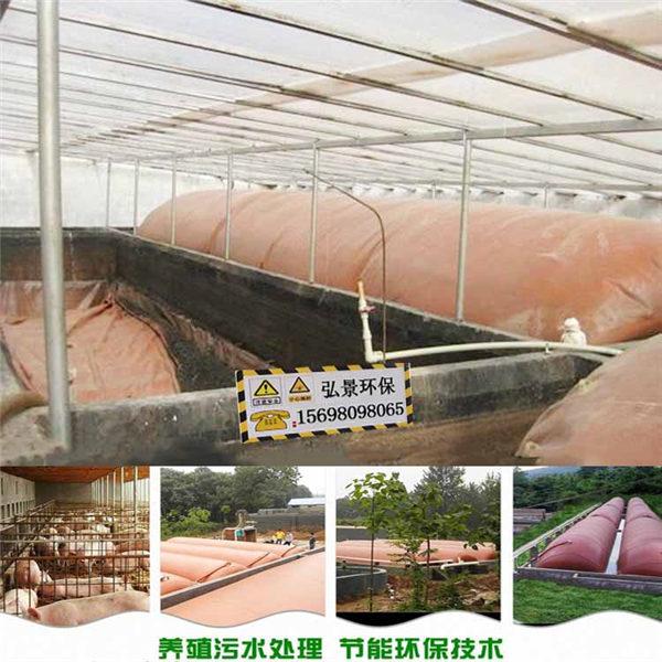 豬糞發酵紅泥沼氣袋 簡易軟體全自動沼氣池 廠家制作成本低